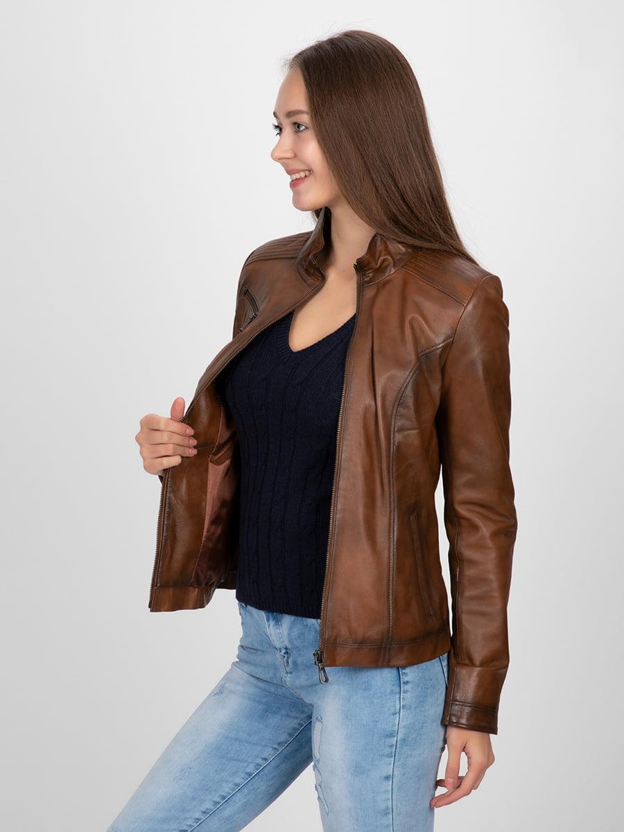 Куртка коричневая | 4313896 | фото 9