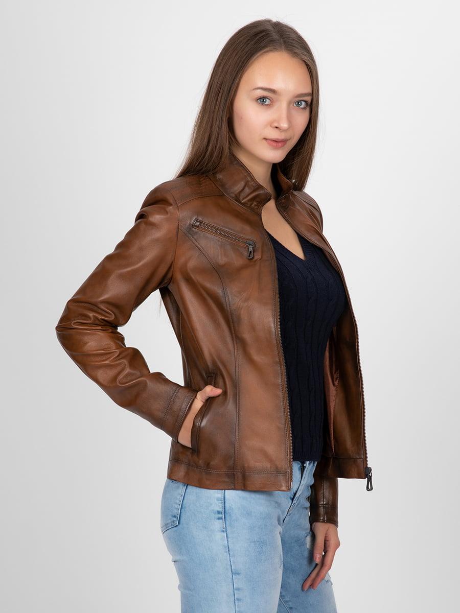 Куртка коричневая | 4313896 | фото 10