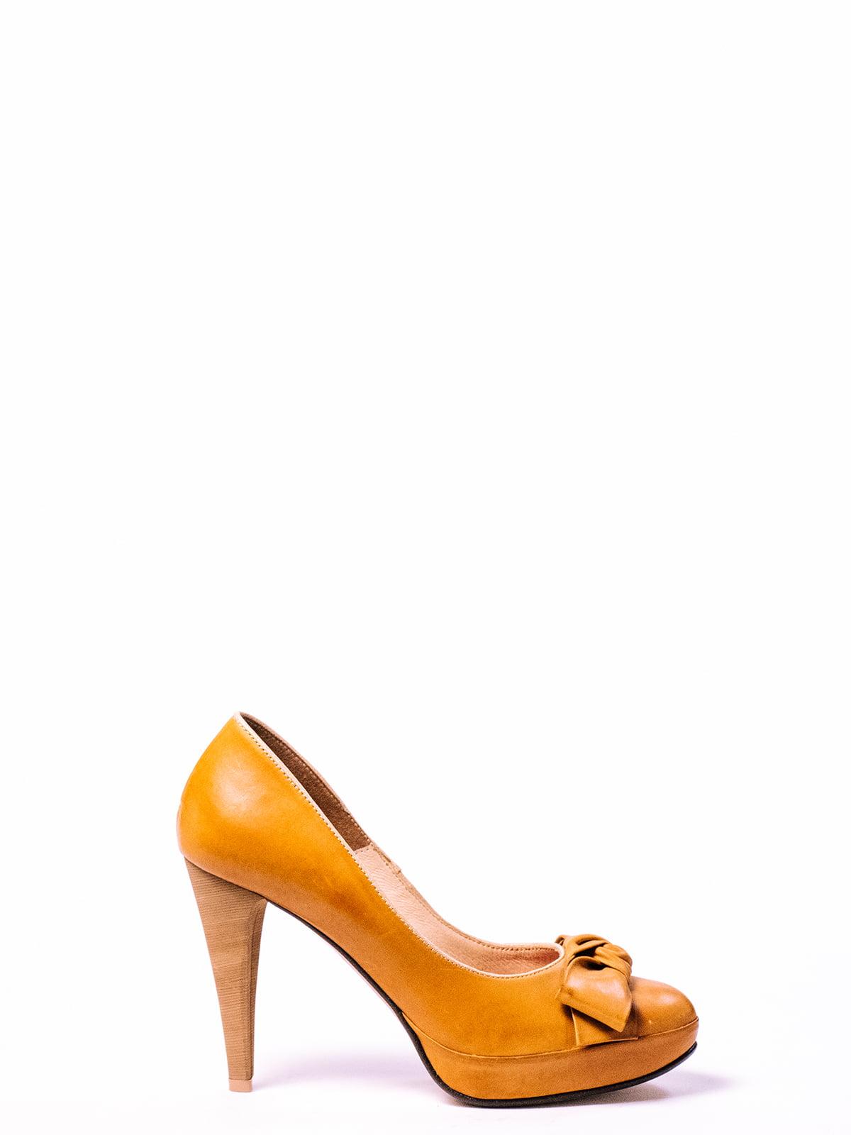 Туфли оранжевые | 4860276