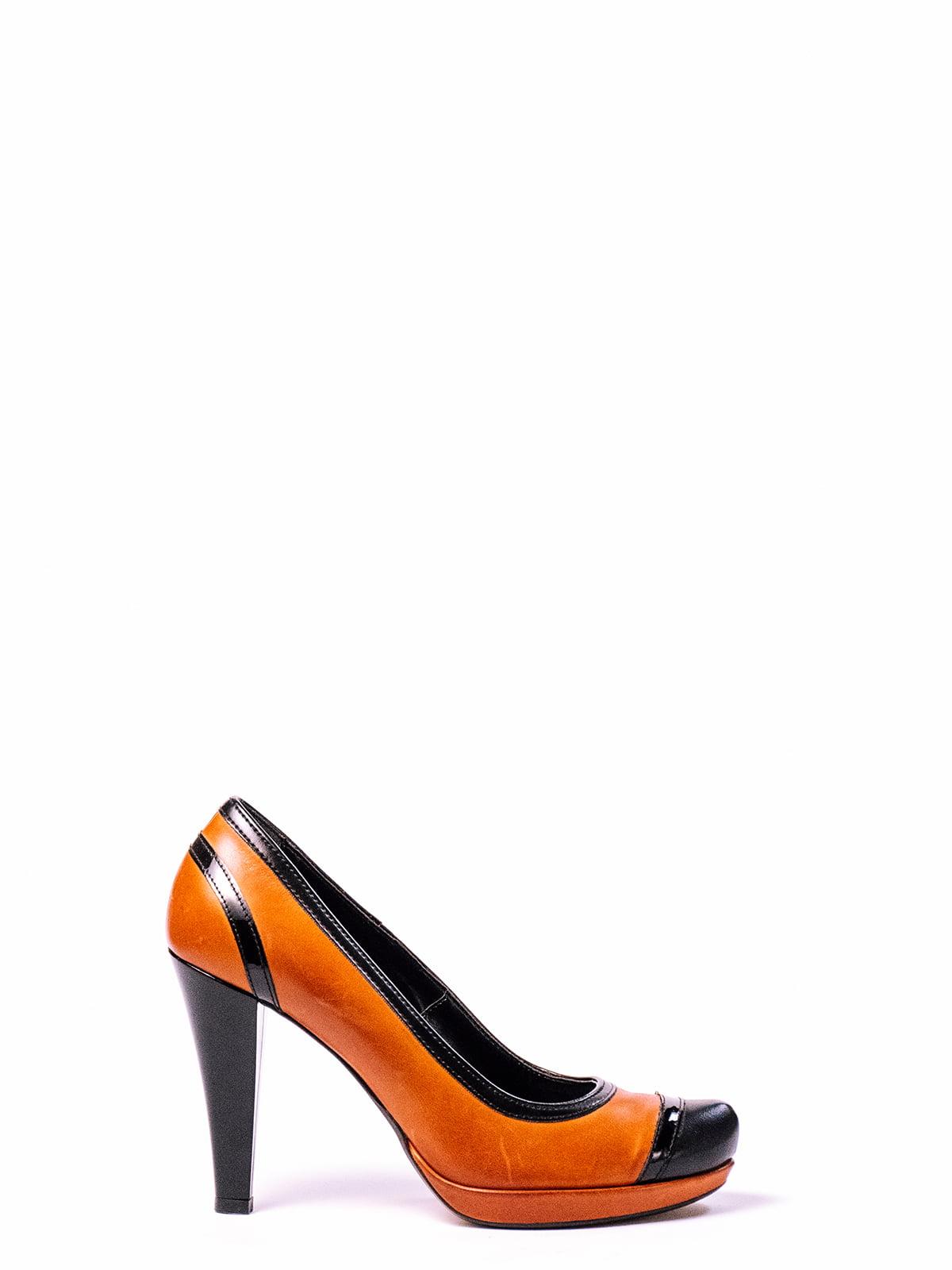 Туфли двухцветные | 4860279