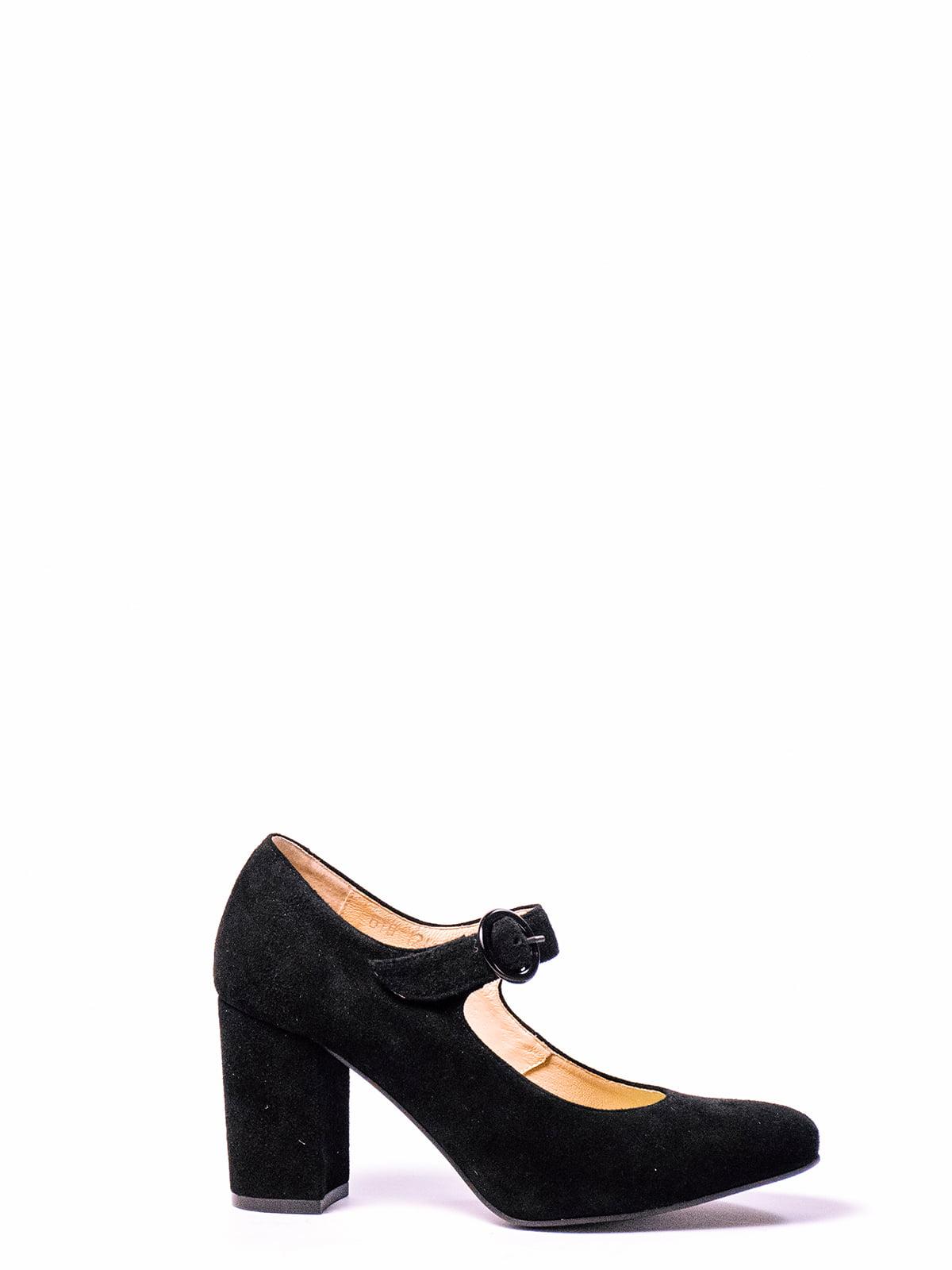 Туфли черные   4860318
