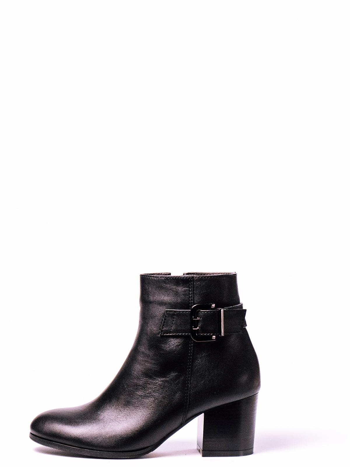 Ботинки черные | 4860362