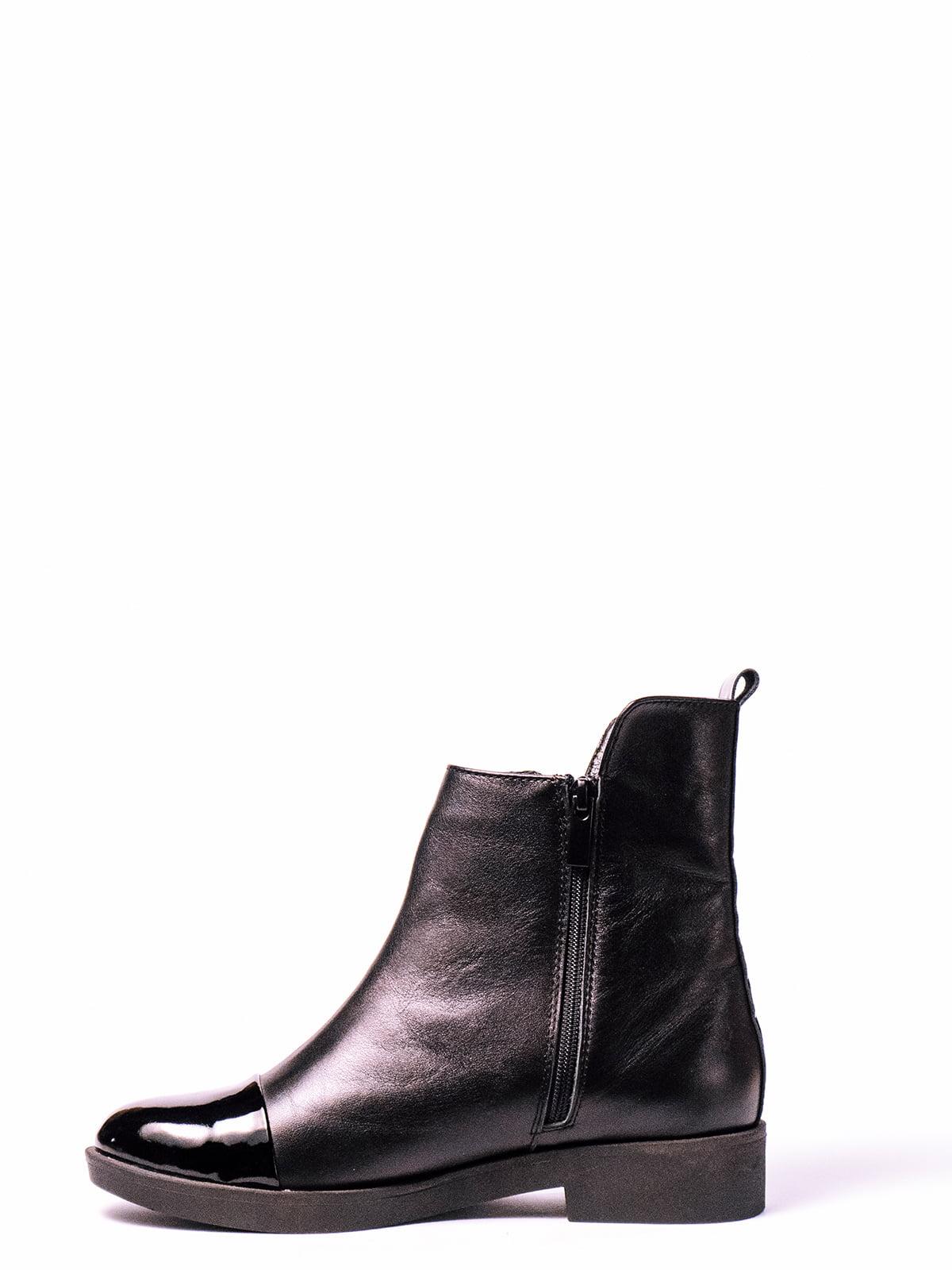 Ботинки черные   4860365