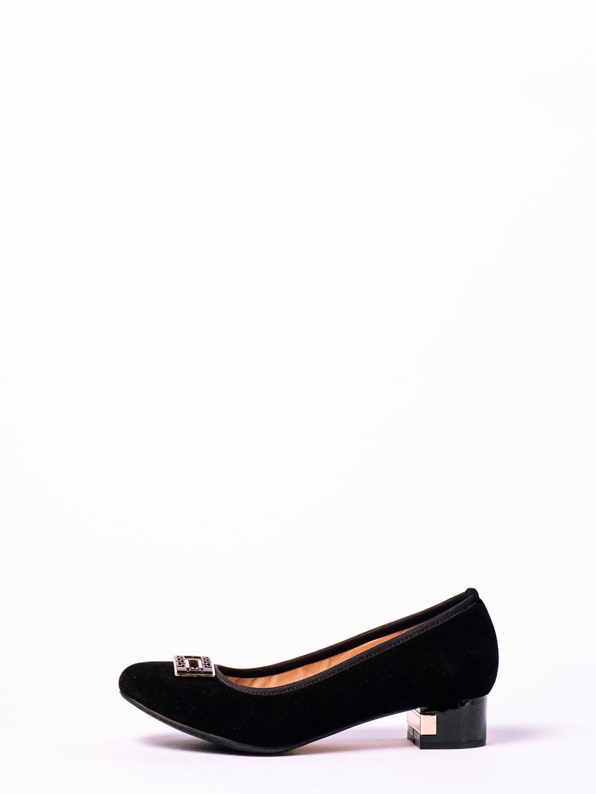 Туфли черные   4860369