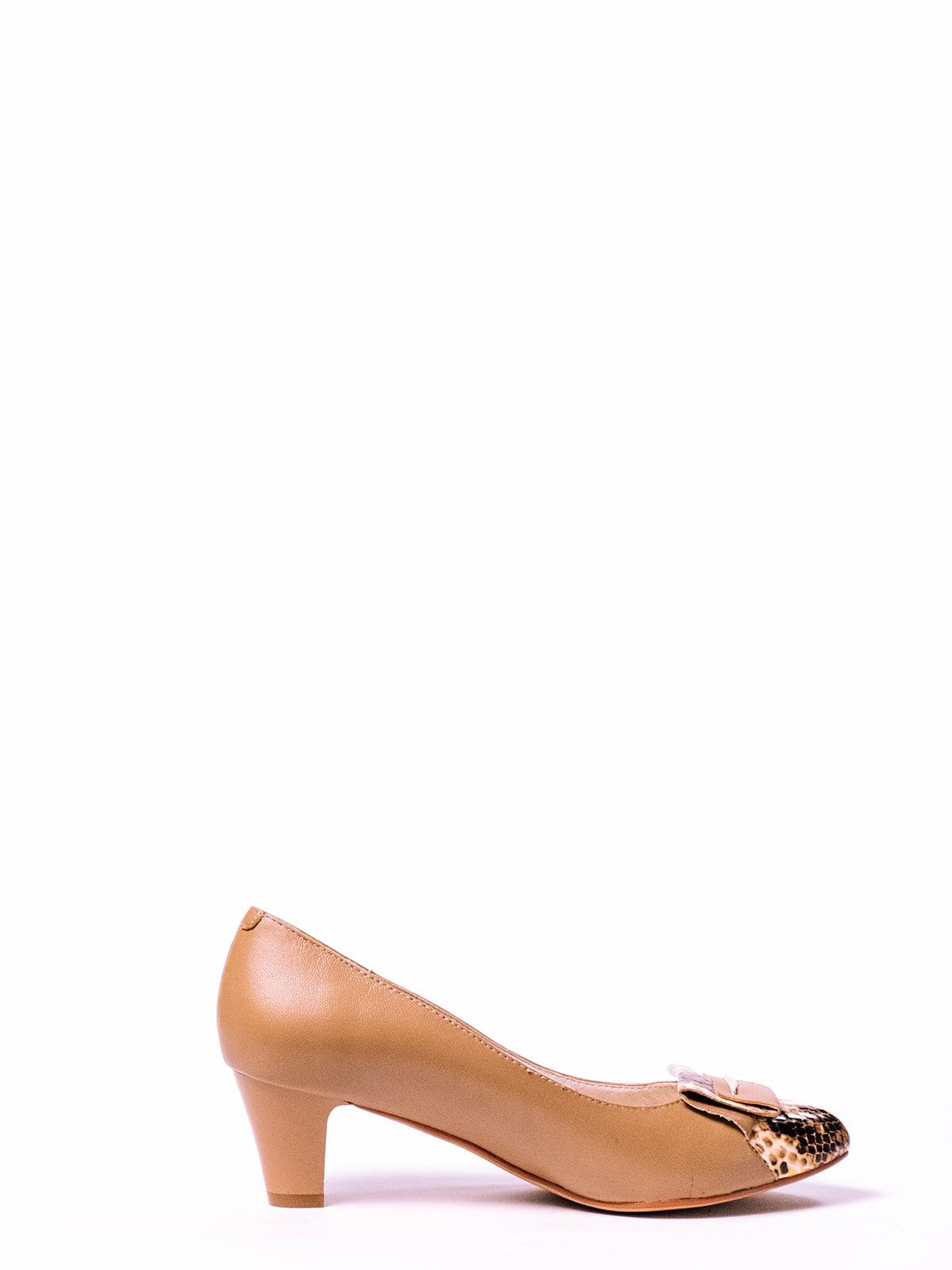 Туфли бежевые | 4860370