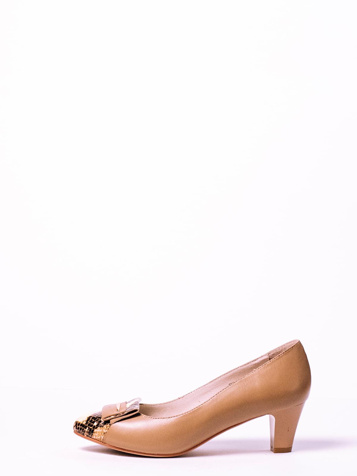 Туфли бежевые | 4860370 | фото 2