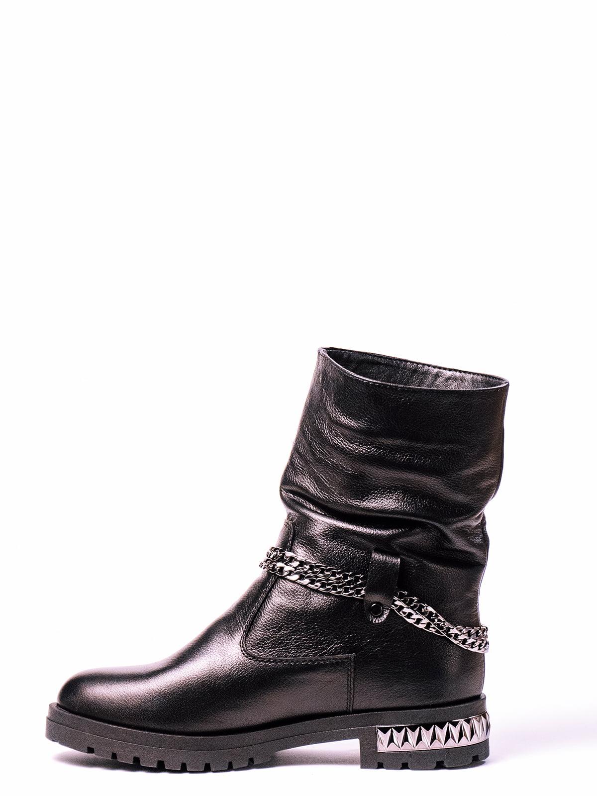 Ботинки черные | 4860376