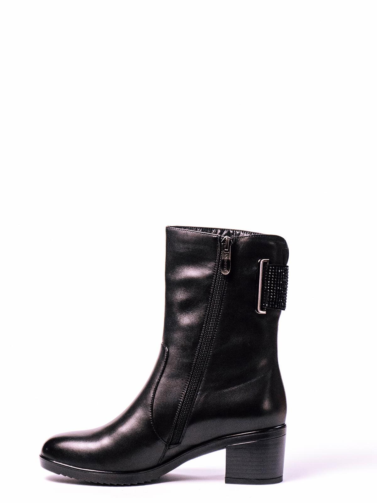 Ботинки черные   4860382