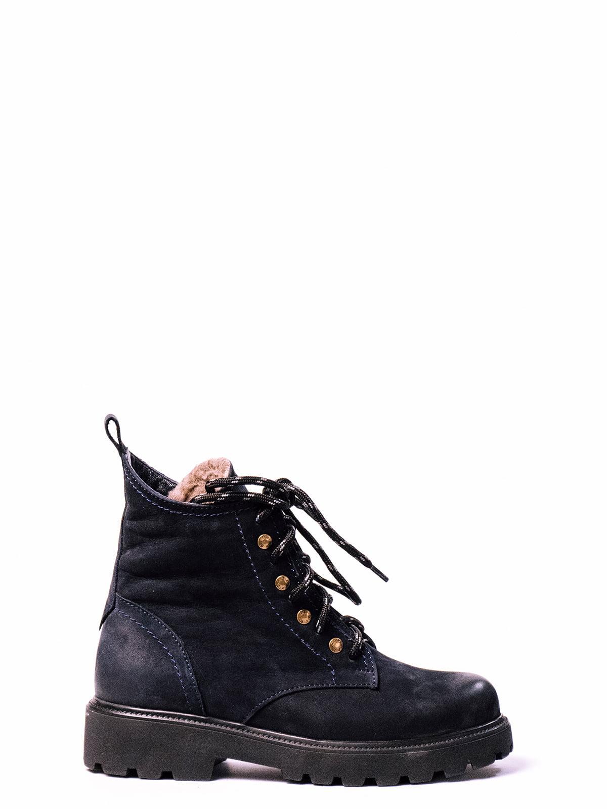 Ботинки синие | 4860384 | фото 2