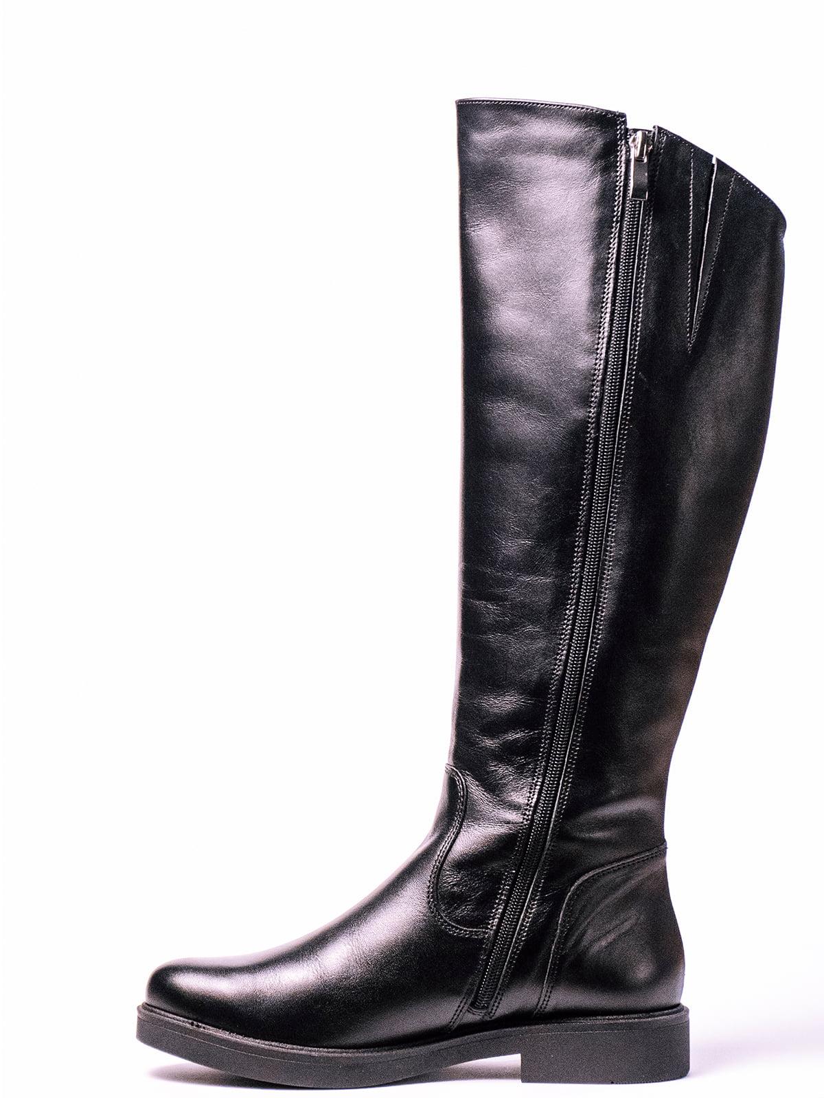 Сапоги черные | 4860386