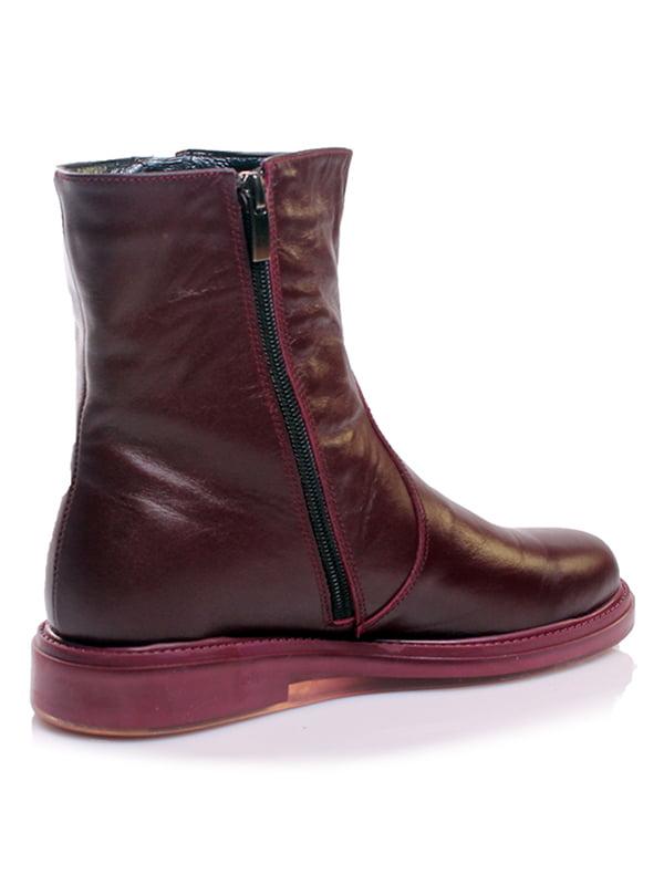Ботинки бордовые | 4861248 | фото 2