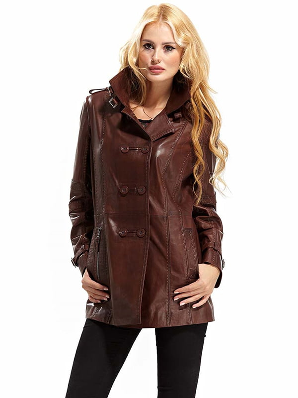 Куртка коричневая | 4698044 | фото 2
