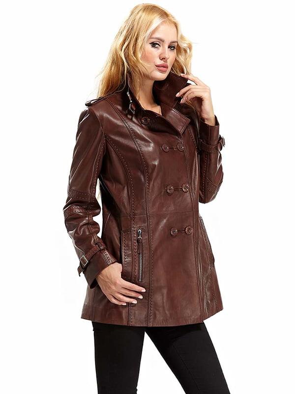 Куртка коричневая | 4698044 | фото 3