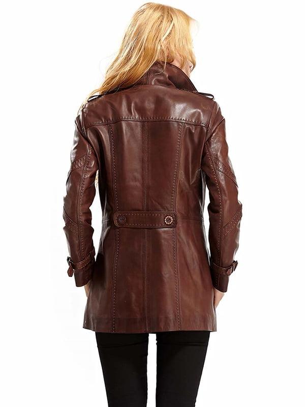 Куртка коричневая | 4698044 | фото 4