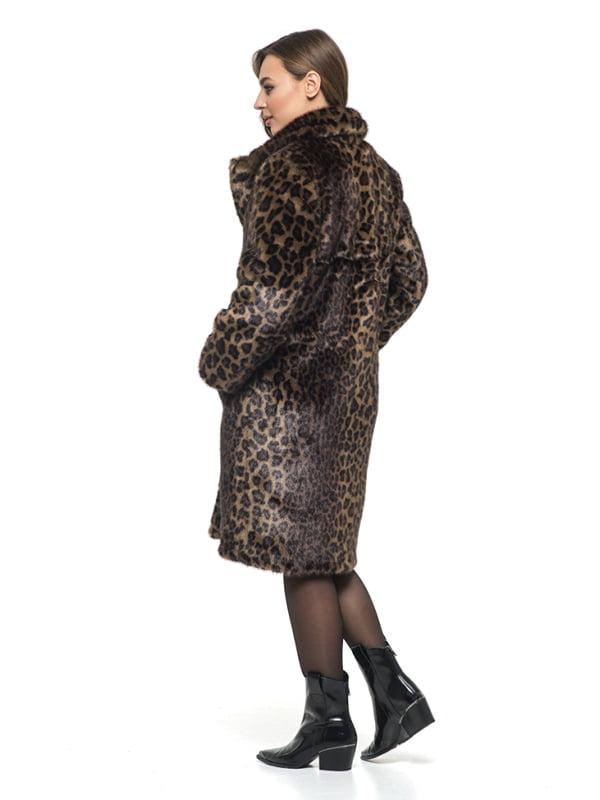 Шуба в леопардовый принт | 4861301 | фото 6