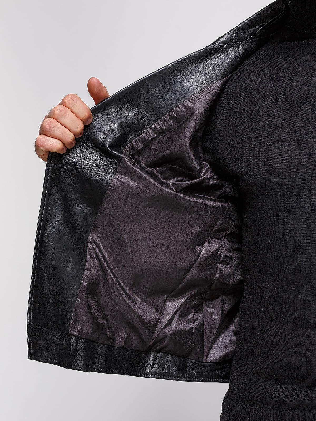 Куртка черная | 3993037 | фото 4