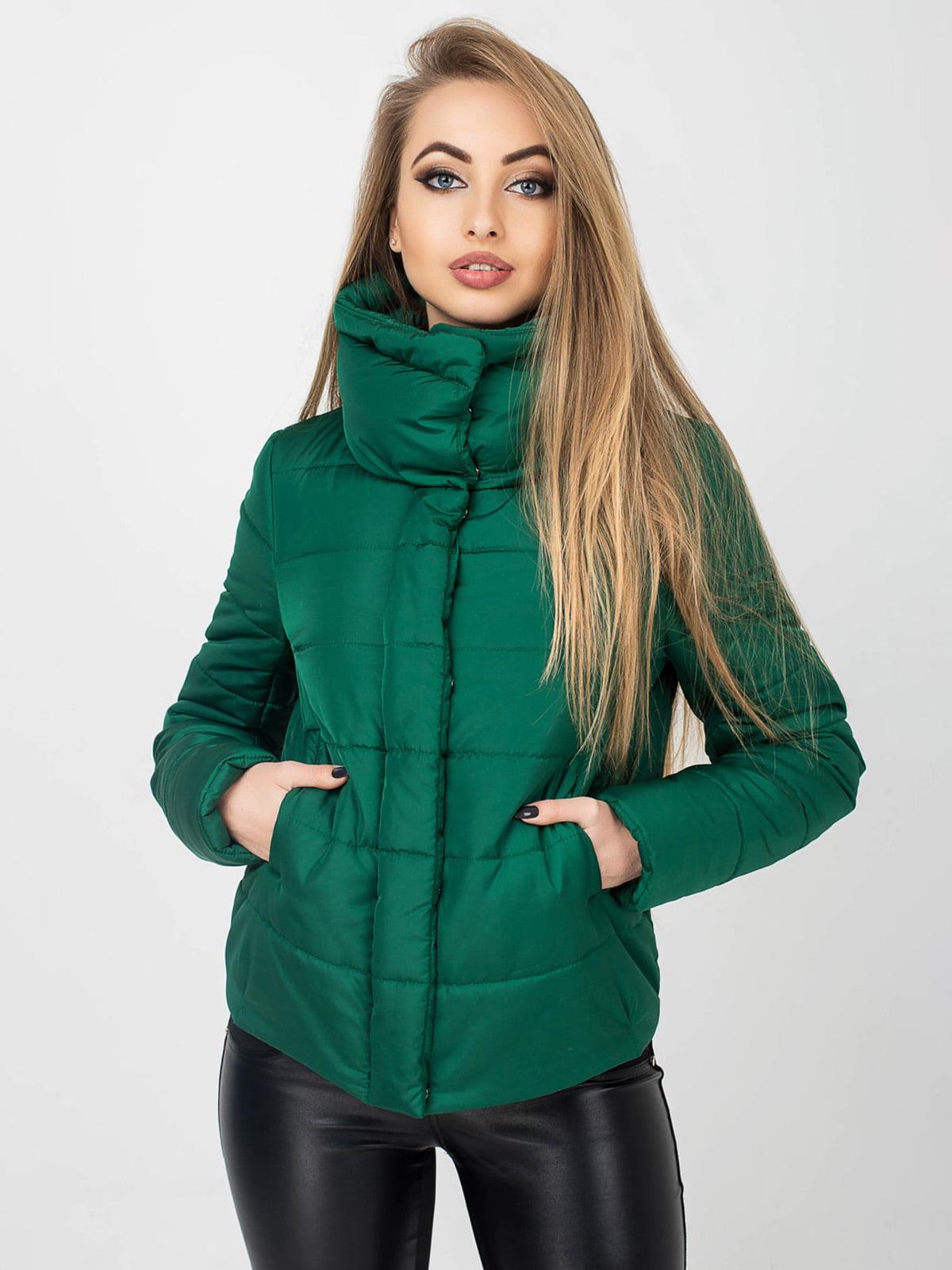 Куртка зелена | 4861415