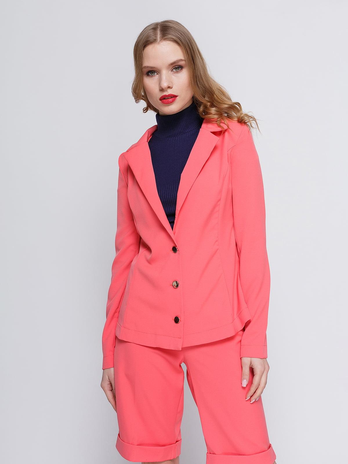 Жакет рожевий | 2380679