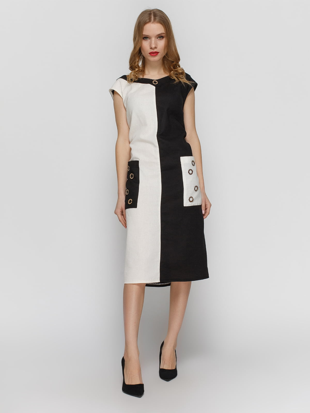 Сукня двоколірна | 4855845