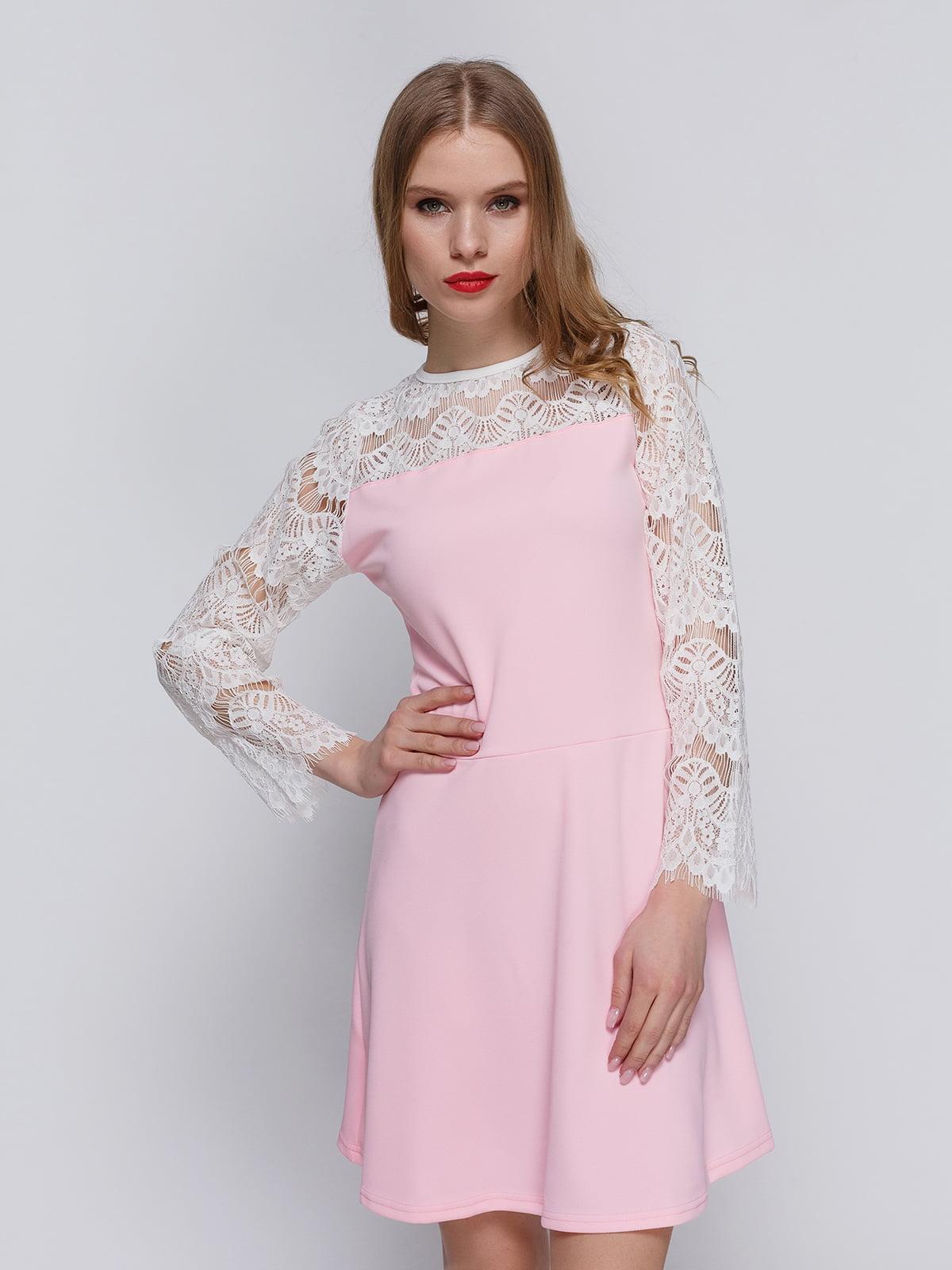 Платье розовое | 3182305