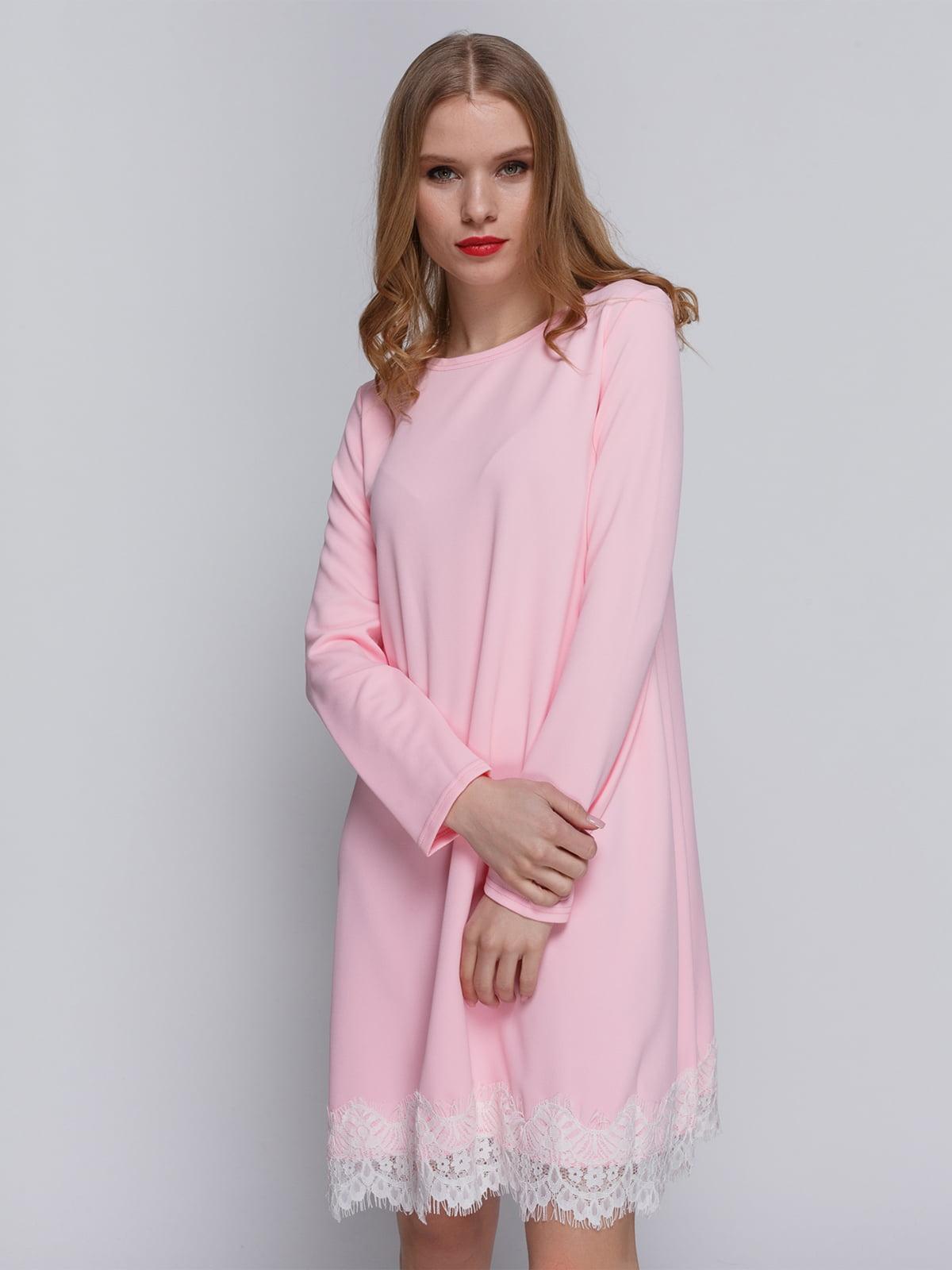 Платье розовое | 3182301
