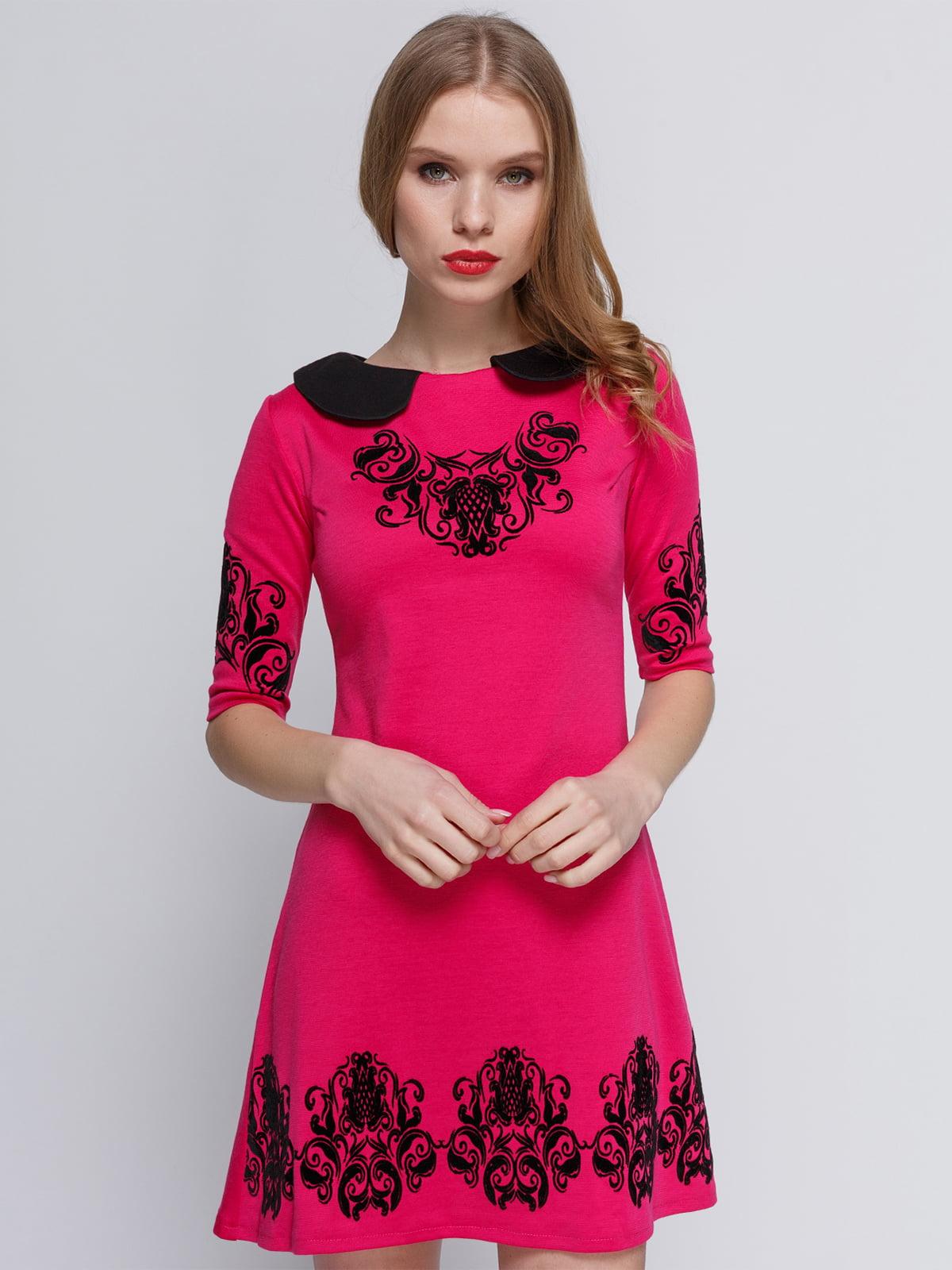 Сукня малинового кольору | 2183465