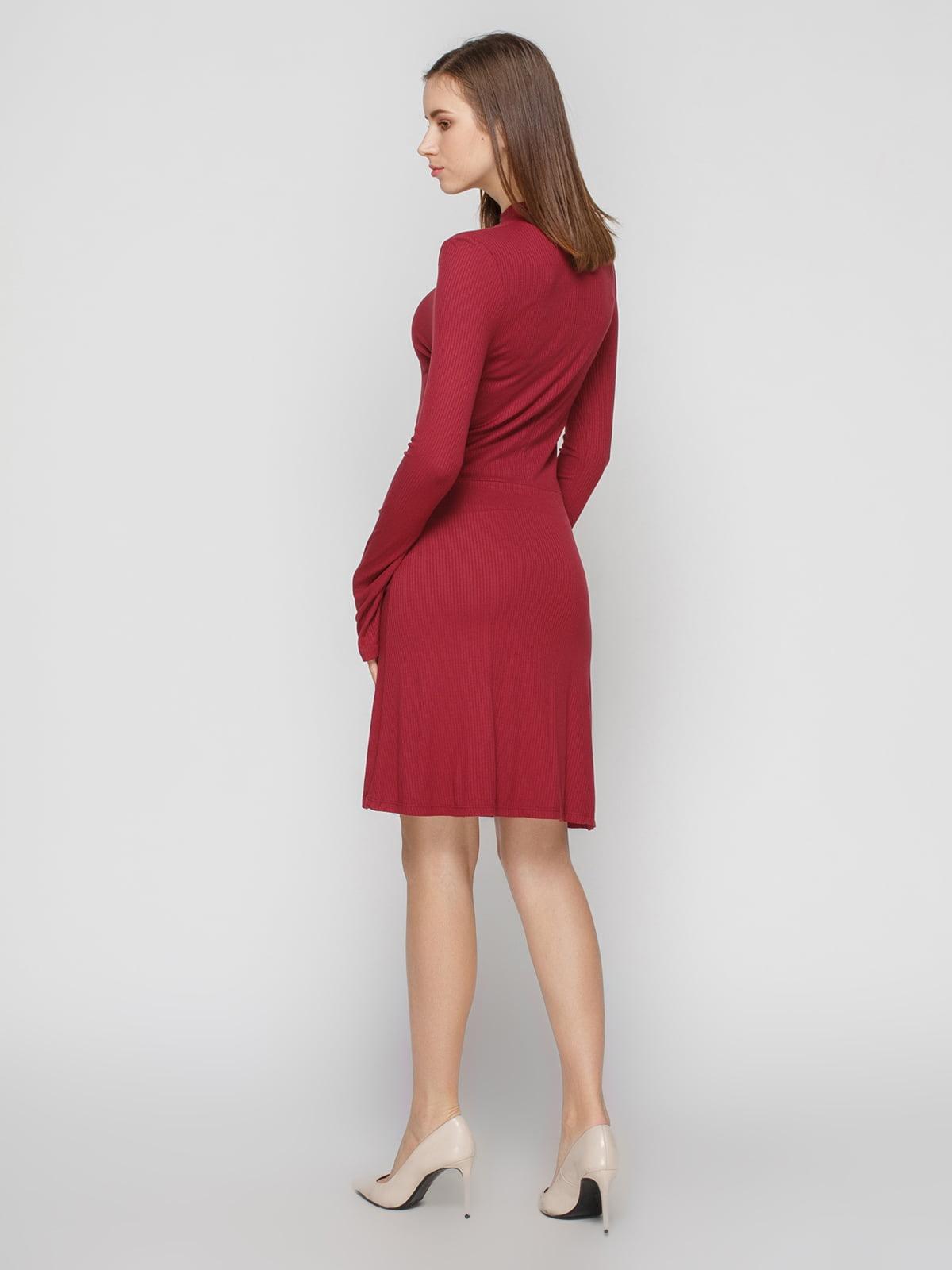 Платье винного цвета | 4791384 | фото 2