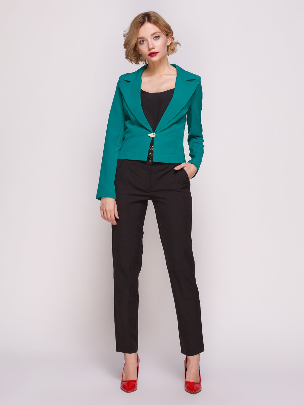 Костюм: жакет і штани | 2599965