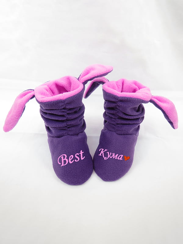 Тапочки фіолетові | 4864310