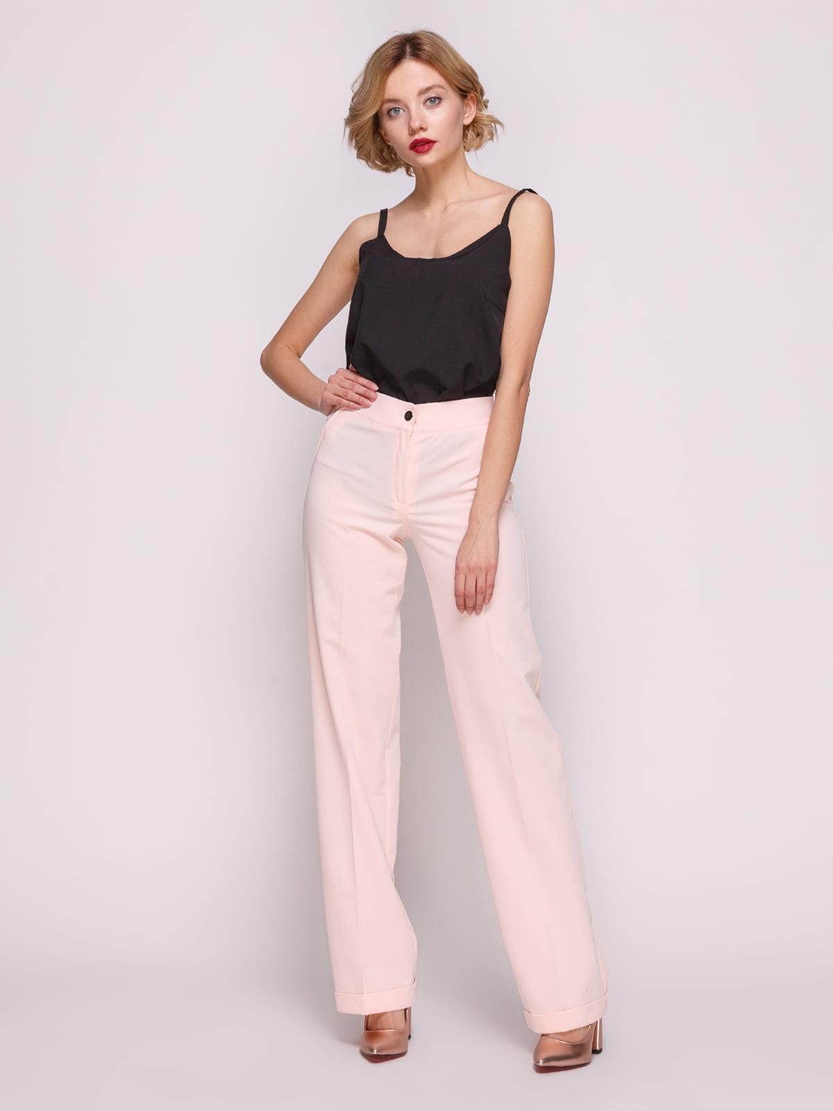 Штани персикового кольору | 3328733