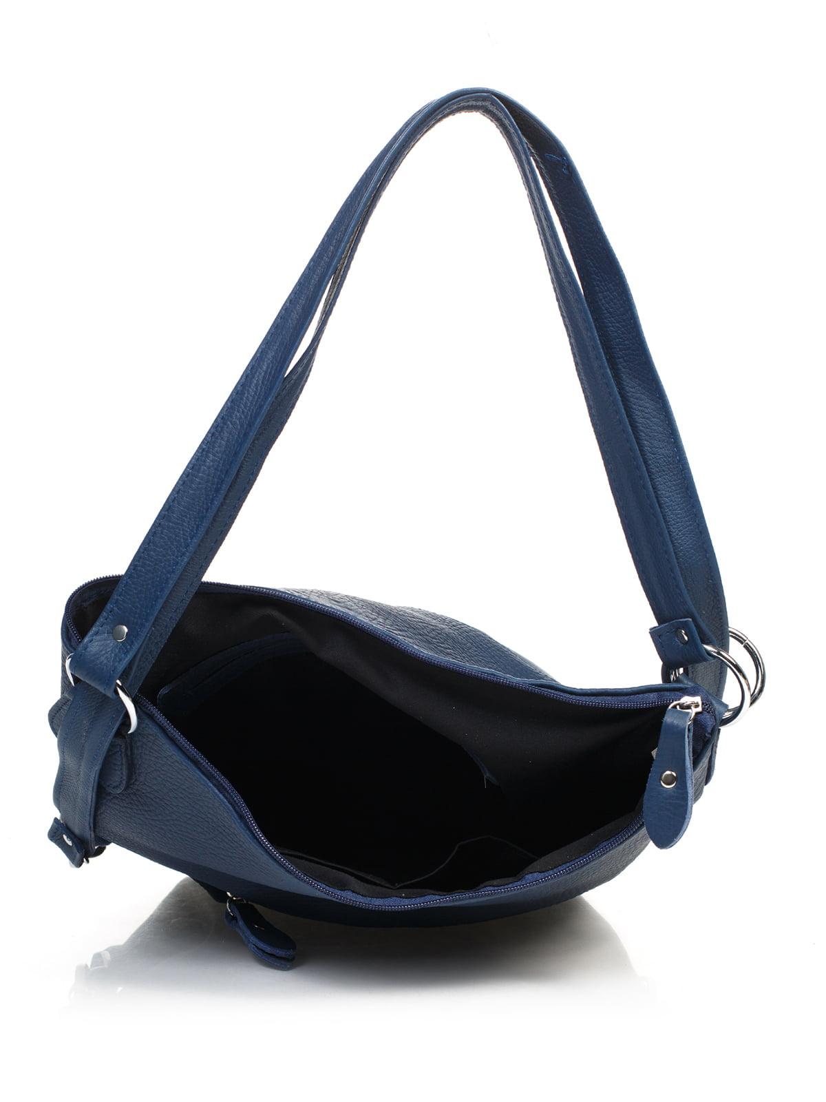 Сумка-рюкзак синяя | 4861382 | фото 4