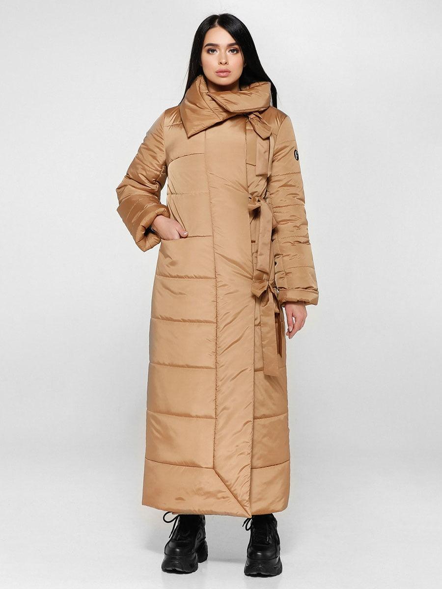 Пальто рыже-коричневое | 4828108