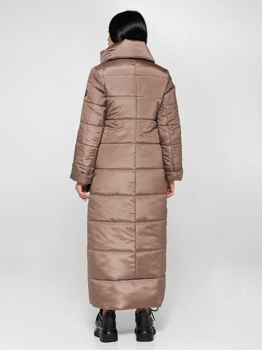 Пальто светло-коричневое | 4828110 | фото 2
