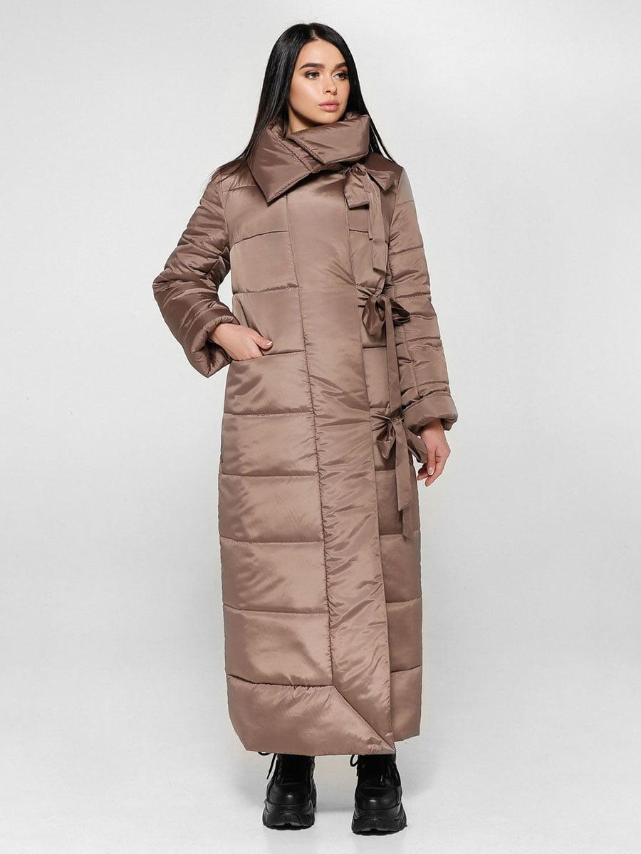 Пальто светло-коричневое | 4828110 | фото 3