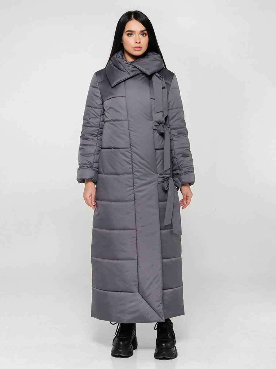 Пальто темно-сіре | 4828112