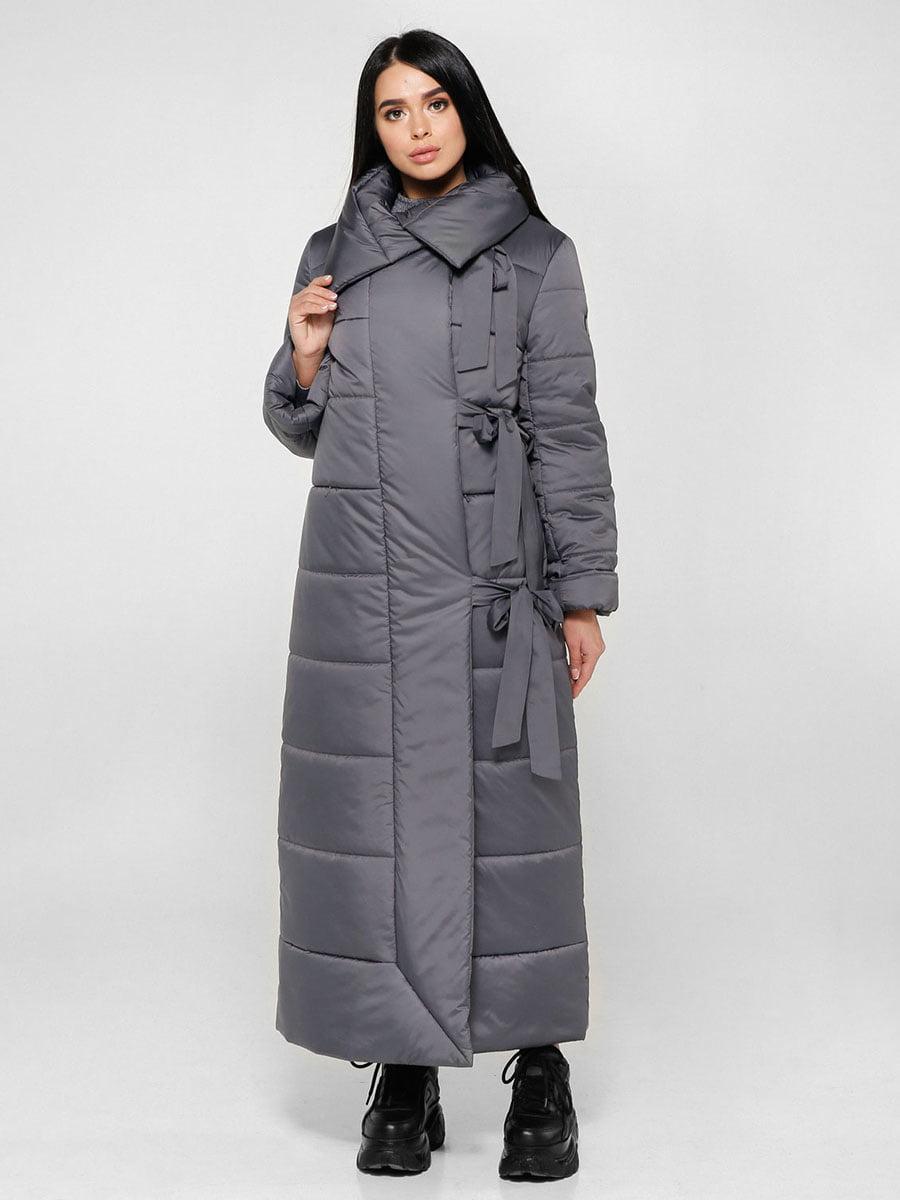 Пальто темно-серое | 4828112 | фото 2