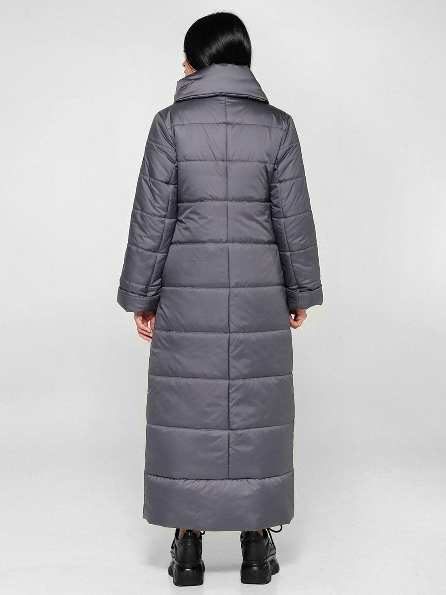 Пальто темно-серое | 4828112 | фото 3