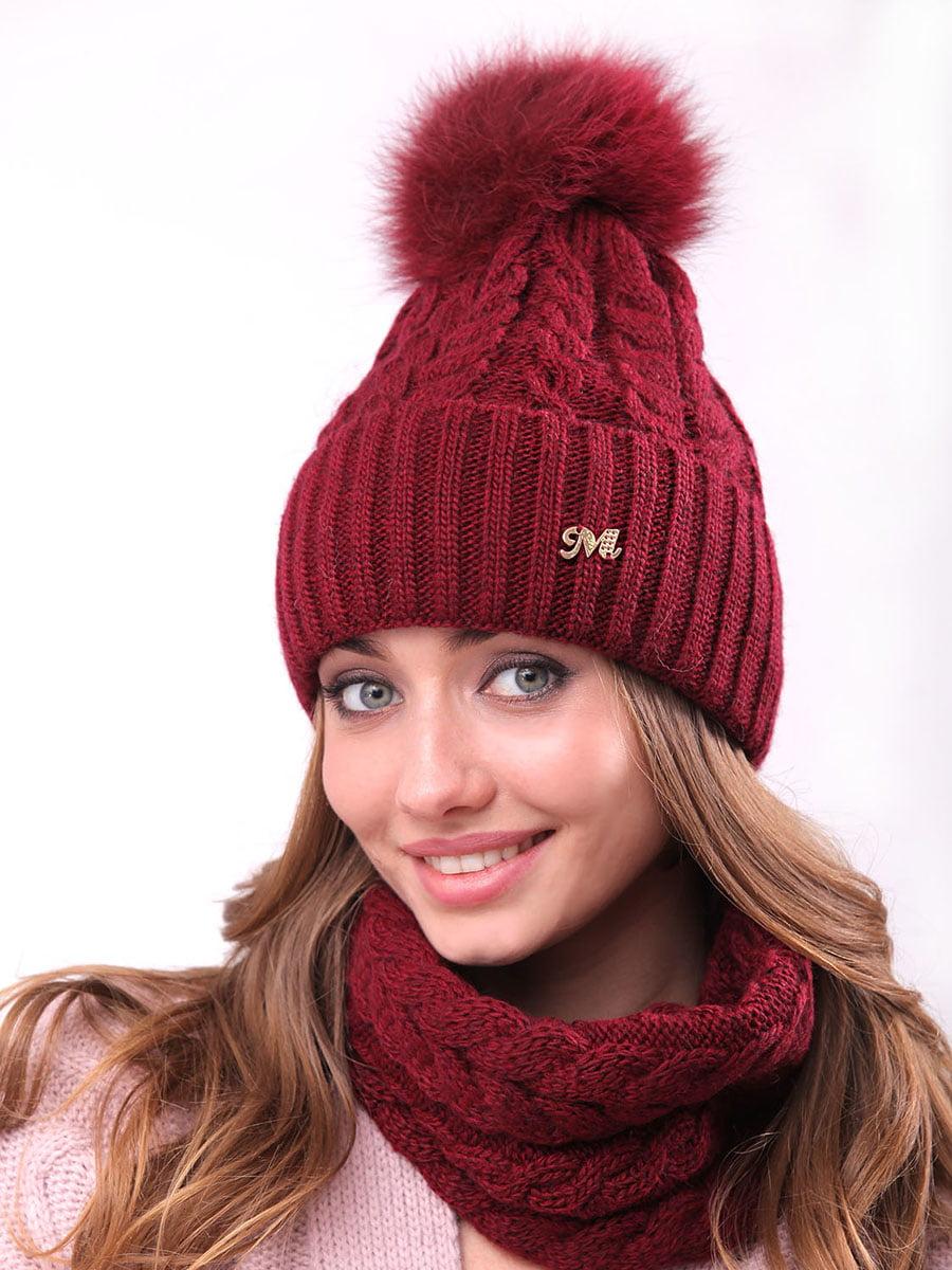 Комплект: шапка и шарф-хомут | 4866850