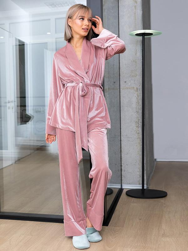 Пижама: жакет и брюки | 4860162