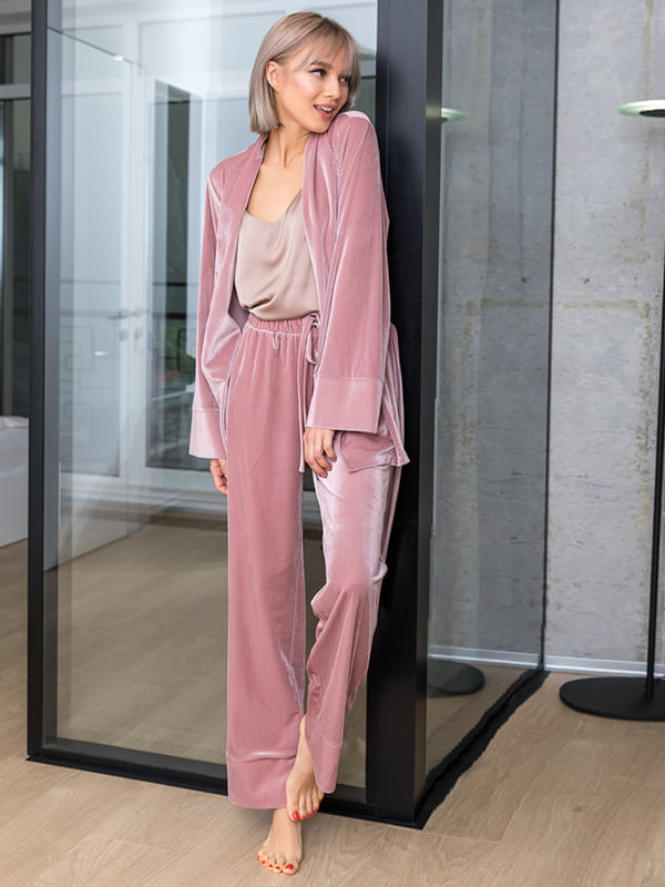 Пижама: жакет и брюки | 4860162 | фото 2