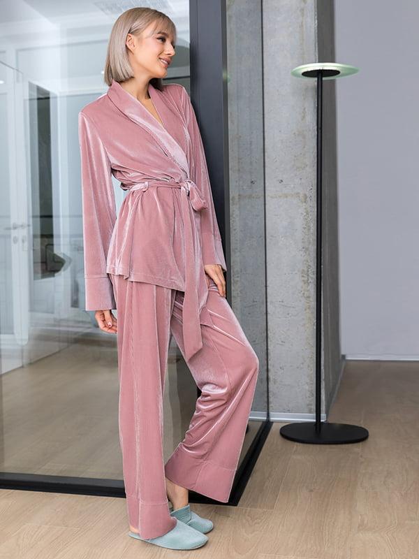 Пижама: жакет и брюки | 4860162 | фото 3