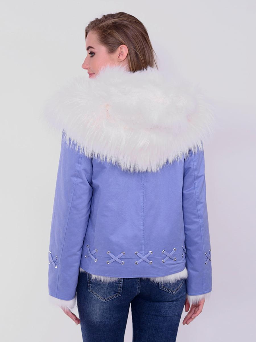 Куртка голубая | 4834501 | фото 4