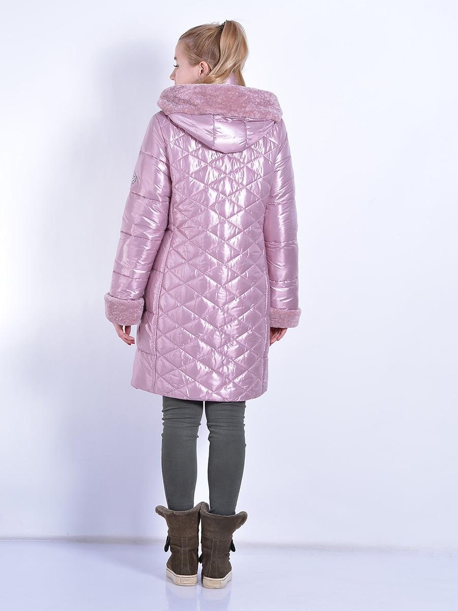 Пальто розовое | 4834520 | фото 5