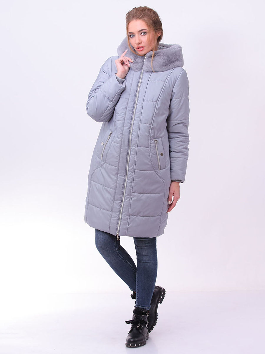 Пальто серое | 4834511 | фото 2