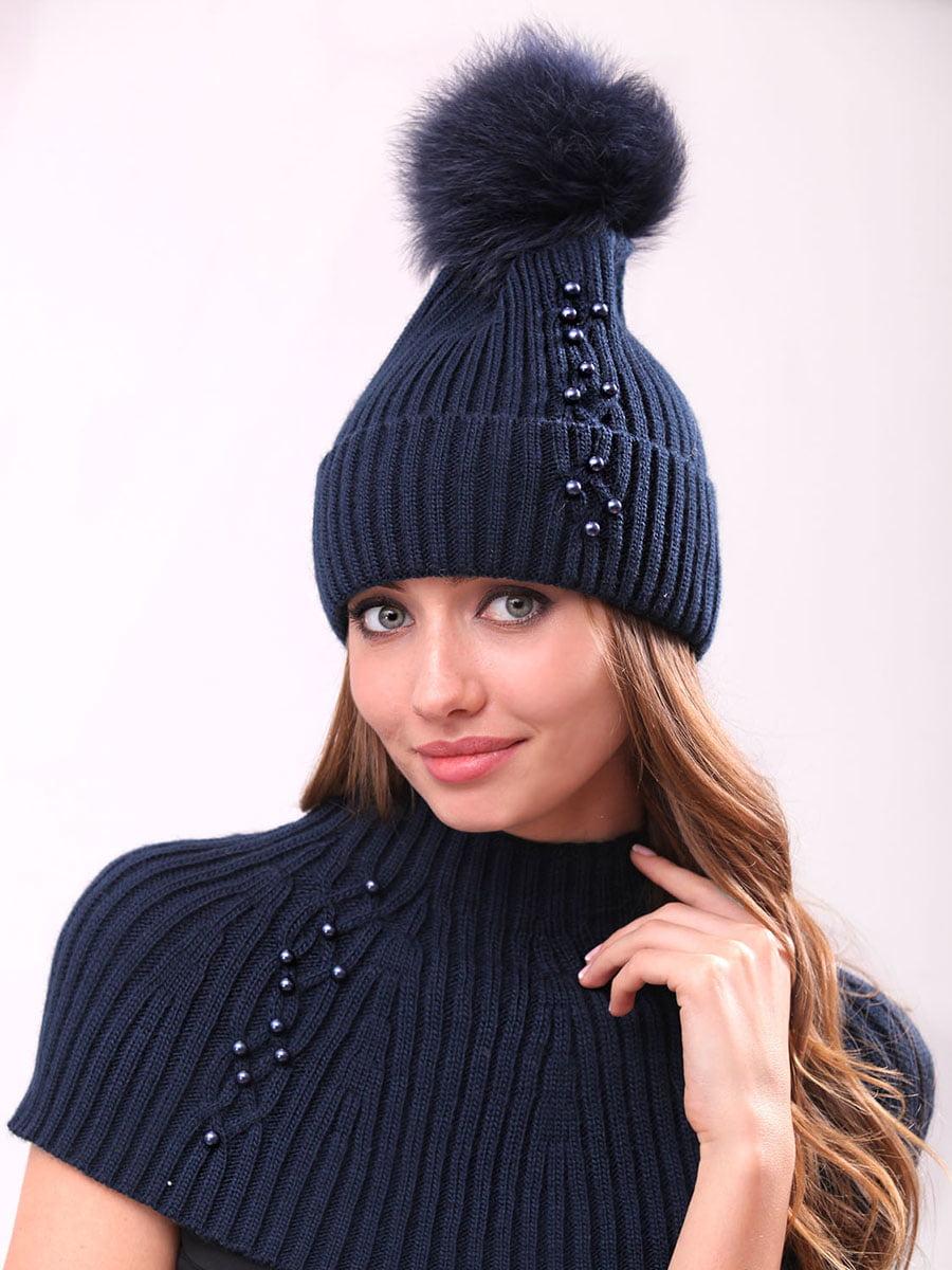 Комплект: шапка и манишка | 4834531 | фото 2