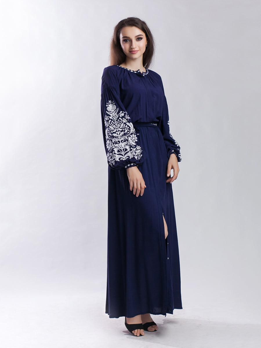 Сукня темно-синя | 4235539