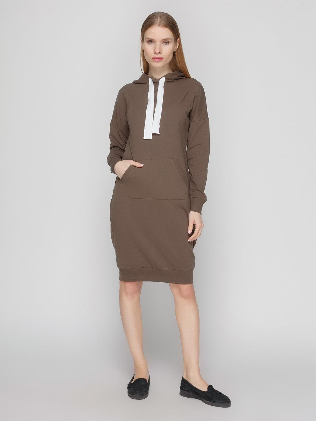 Платье коричневое | 4861818