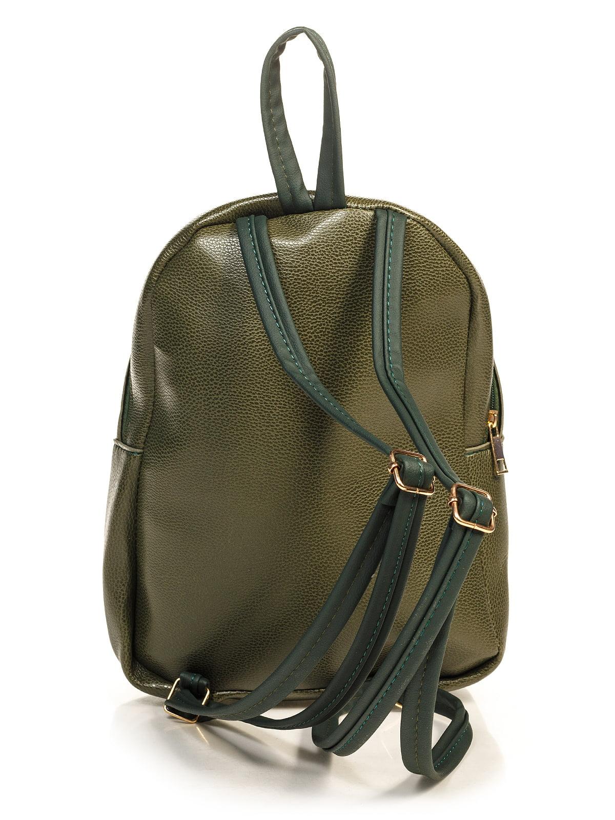 Рюкзак цвета хаки | 4715101 | фото 2