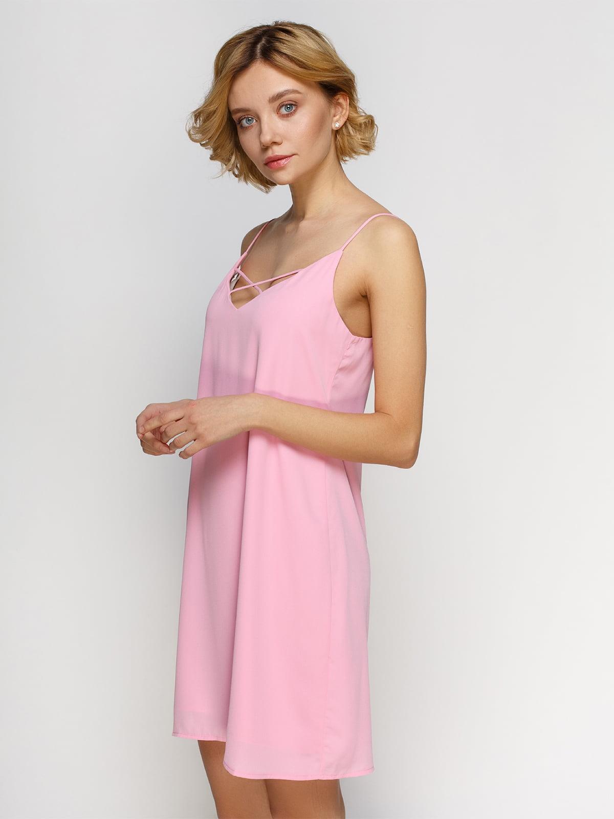 Платье розовое   4545878