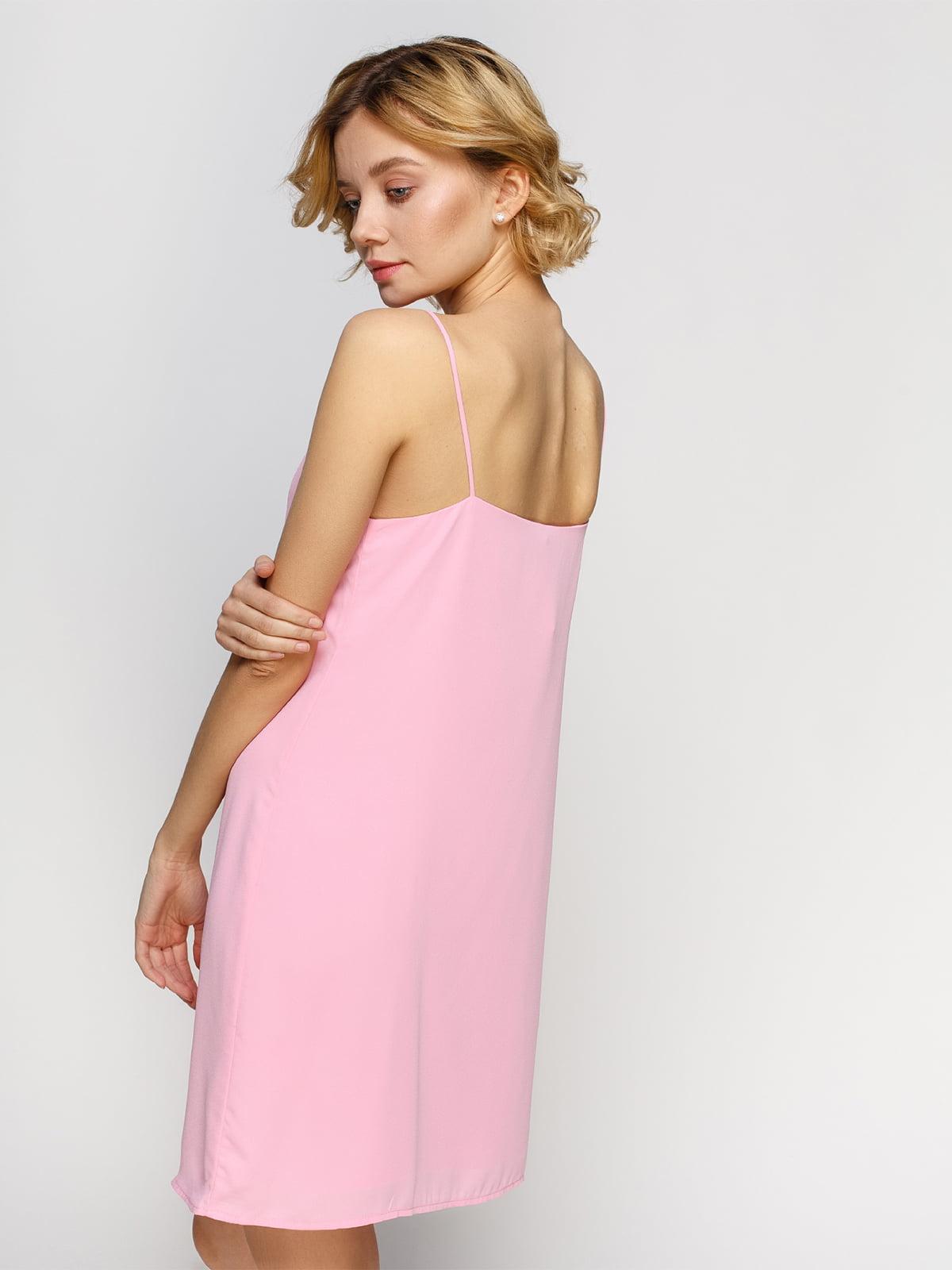 Платье розовое   4545878   фото 2